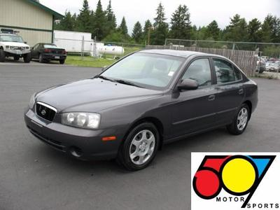 Used 2002 Hyundai Elantra GLS