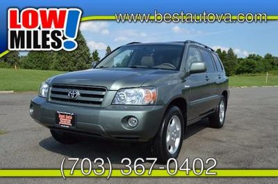 Used 2005 Toyota Highlander Limited