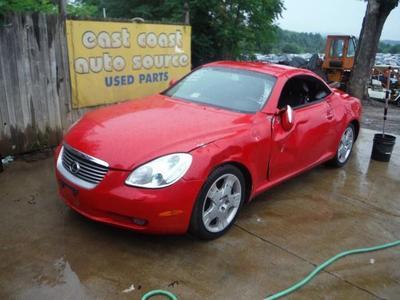 Used 2002 Lexus SC 430