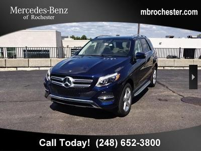 2018 Mercedes-Benz GLE 350 Base 4MATIC