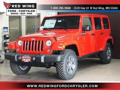 New 2017 Jeep Wrangler Unlimited Rubicon