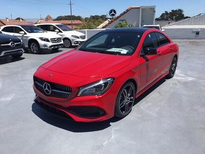 New 2018 Mercedes-Benz CLA 250 Base