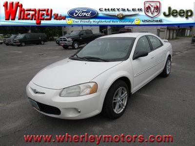 Used 2002 Chrysler Sebring LXi