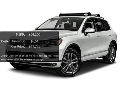 New 2017 Volkswagen Touareg V6 Wolfsburg Edition
