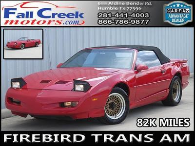 Used 1991 Pontiac Firebird Trans Am