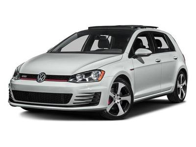 New 2017 Volkswagen Golf GTI Autobahn 4-Door