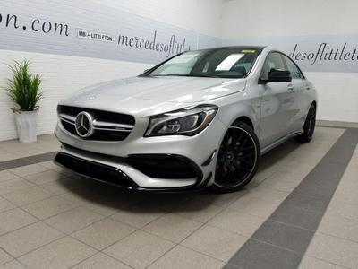 New 2018 Mercedes-Benz AMG CLA 45 Base 4MATIC