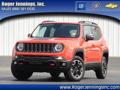 Used 2017 Jeep Renegade Trail Hawk