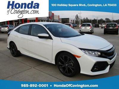 New 2017 Honda Civic Sport