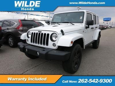 Used 2015 Jeep Wrangler Unlimited Wrangler X