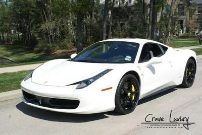 Used 2014 Ferrari 458 Italia Base