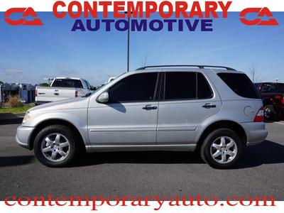 Used 2005 Mercedes-Benz ML500 4MATIC