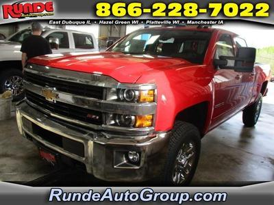 New 2017 Chevrolet Silverado 2500 LT
