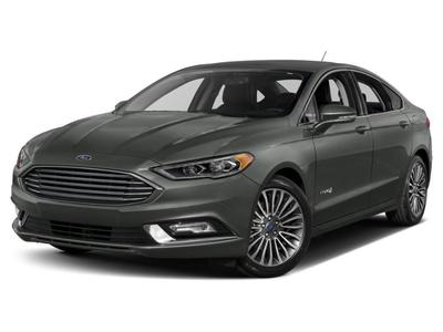 New 2017 Ford Fusion Hybrid Platinum