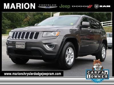 Certified 2015 Jeep Grand Cherokee Laredo