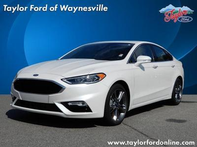 New 2018 Ford Fusion Sport