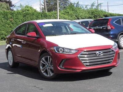New 2017 Hyundai Elantra Limited