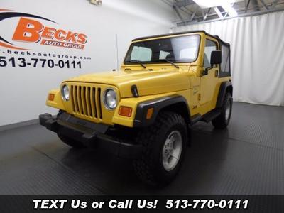 Used 2000 Jeep Wrangler Sport