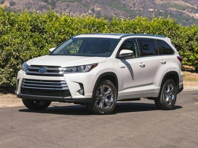 New 2017 Toyota Highlander Hybrid Limited Platinum