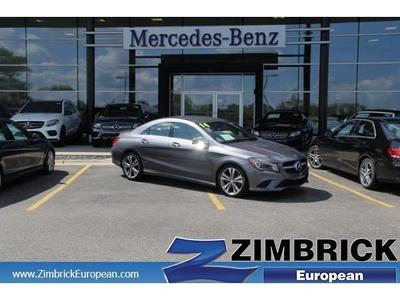 Certified 2014 Mercedes-Benz CLA250C