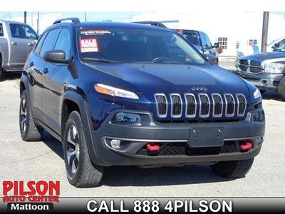 Certified 2015 Jeep Cherokee Trailhawk