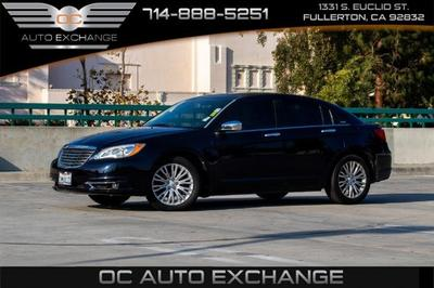 Used Chrysler 200 Fullerton Ca