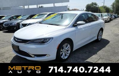 Used Chrysler 200 La Habra Ca