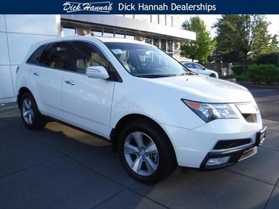2011 Acura MDX 3.7L Technology