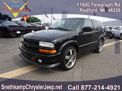 Used 2002 Chevrolet Blazer for Sale Near Me | Cars com