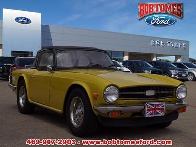 Used Triumph TR6 for Sale Near Me | Cars com