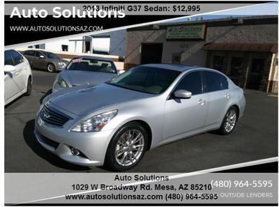 Used INFINITI G37 for Sale in Phoenix, AZ   Cars com