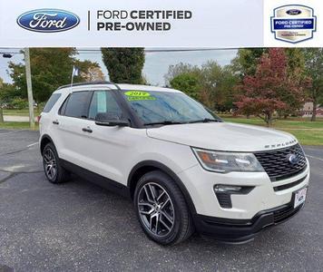 2019 Ford Explorer sport