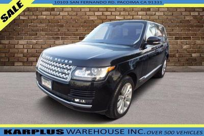 Used Land Rover Range Rover Los Angeles Ca