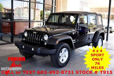 Used 2017 Jeep Wrangler Unlimited for Sale in Phoenix, AZ
