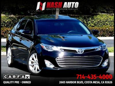 2015 Toyota Avalon For Sale >> Used 2015 Toyota Avalon For Sale In Irvine Ca Cars Com