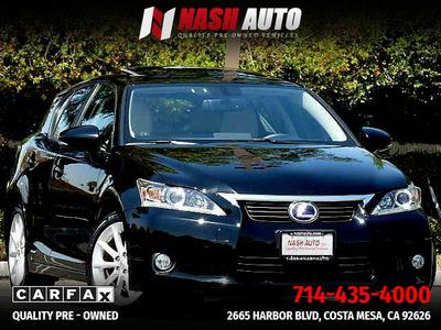 Lexus Ct200h For Sale >> Used Lexus Ct 200h For Sale In Los Angeles Ca Cars Com