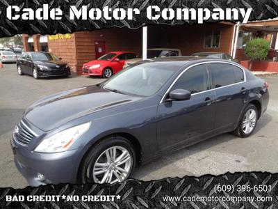 Used Infiniti G37 Sedan Lawrence Township Nj