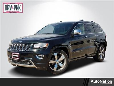 2014 Jeep Grand Cherokee Overland