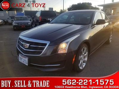 Used Cadillac Ats Sedan Inglewood Ca