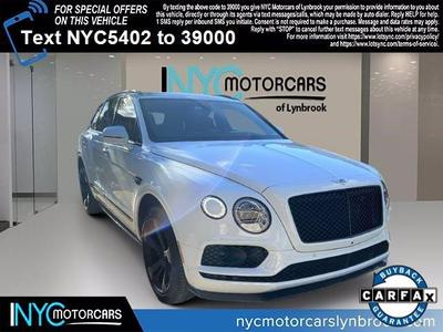 Used Bentley Bentayga Lynbrook Ny