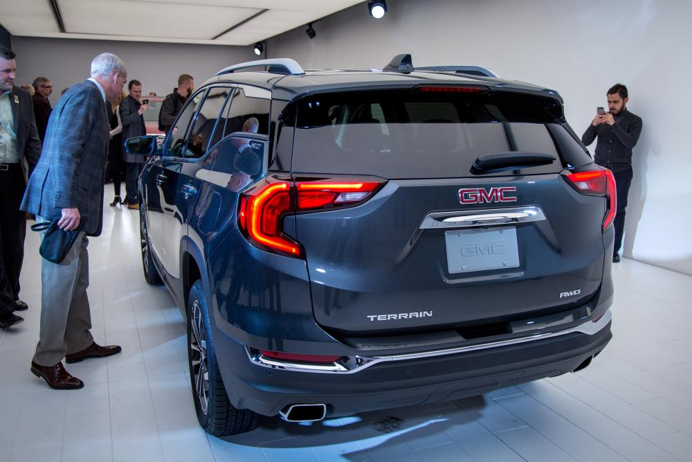 Creative 2018 GMC Terrain Review First Impressions And Photo