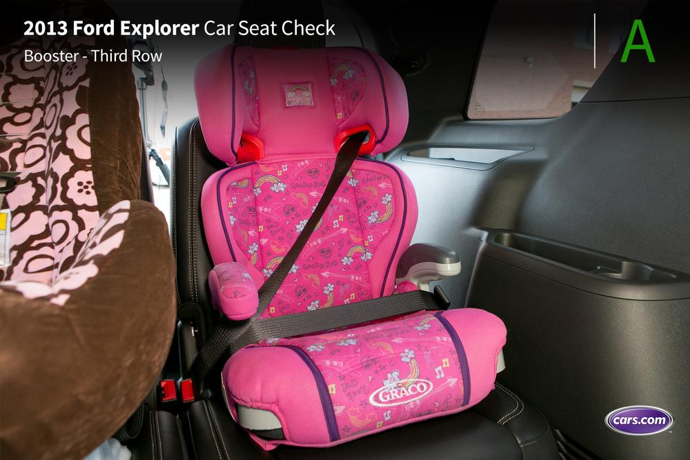 Install Infant Car Seat  Ford Explorer