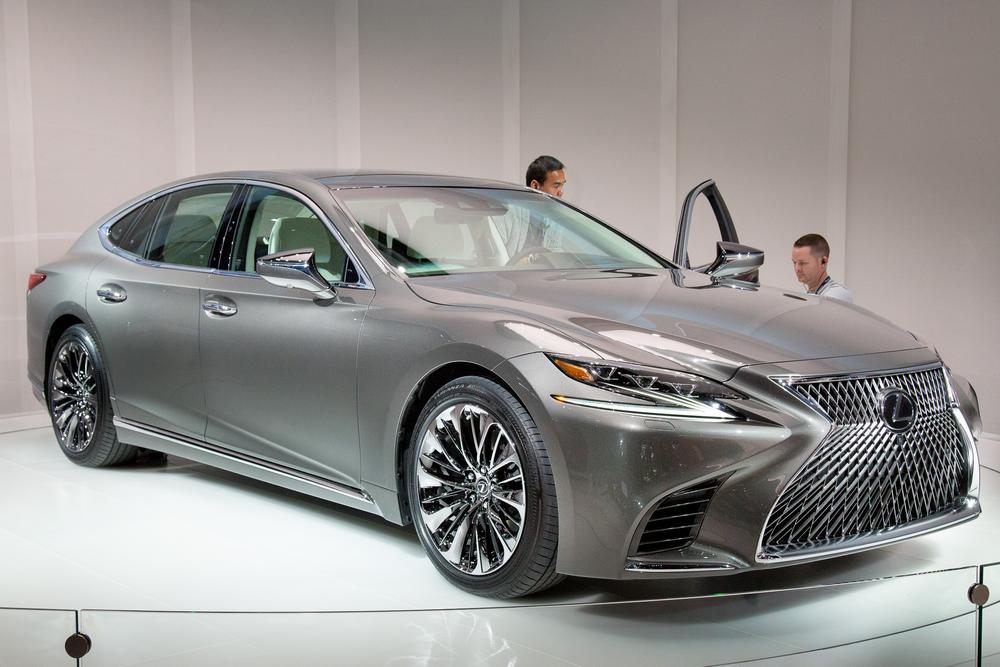 Creative 2018 Lexus LS 500 Review First Impressions And Photo
