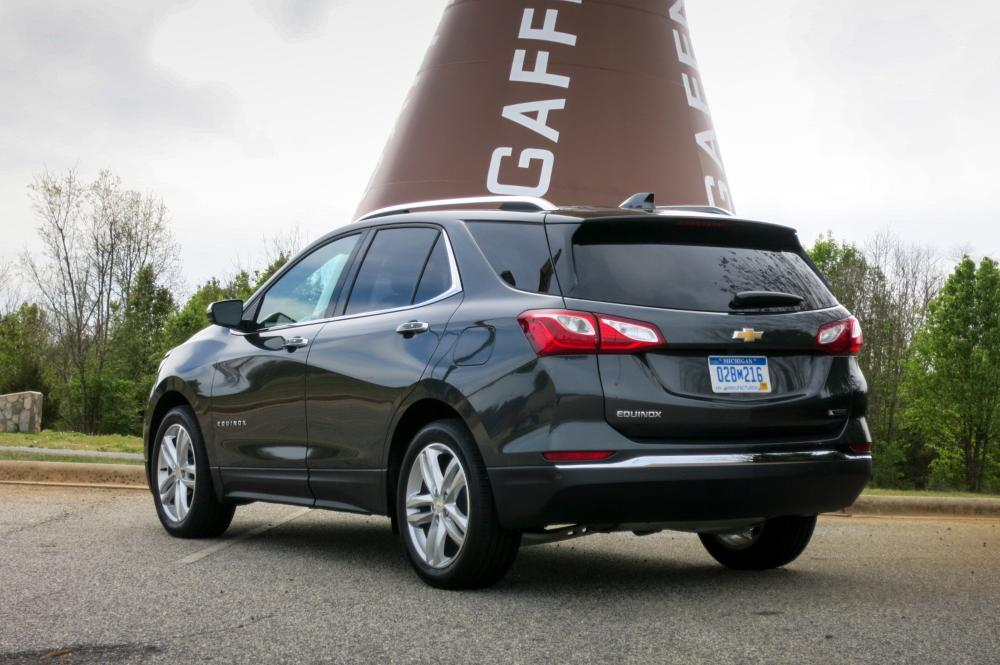 2018 Chevrolet Equinox Review First Drive News Cars Com