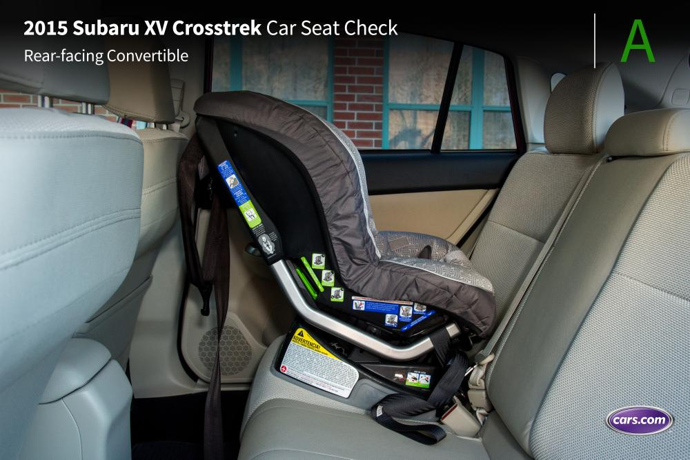 Subaru Crosstrek And Rear Facing Car Seat