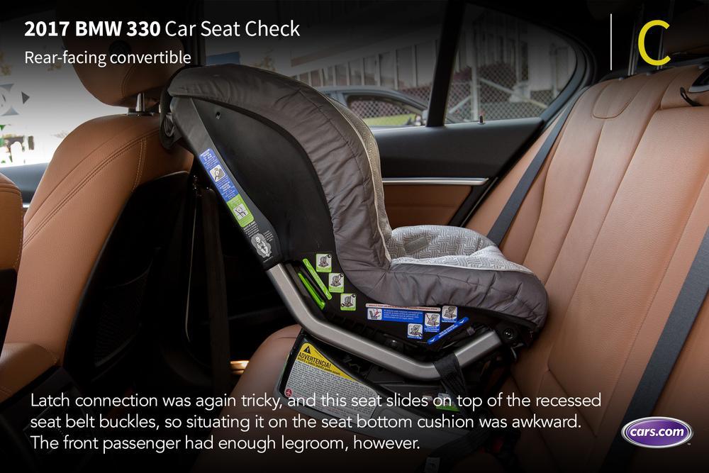 2017 Bmw 330i Car Seat Check News Cars Com