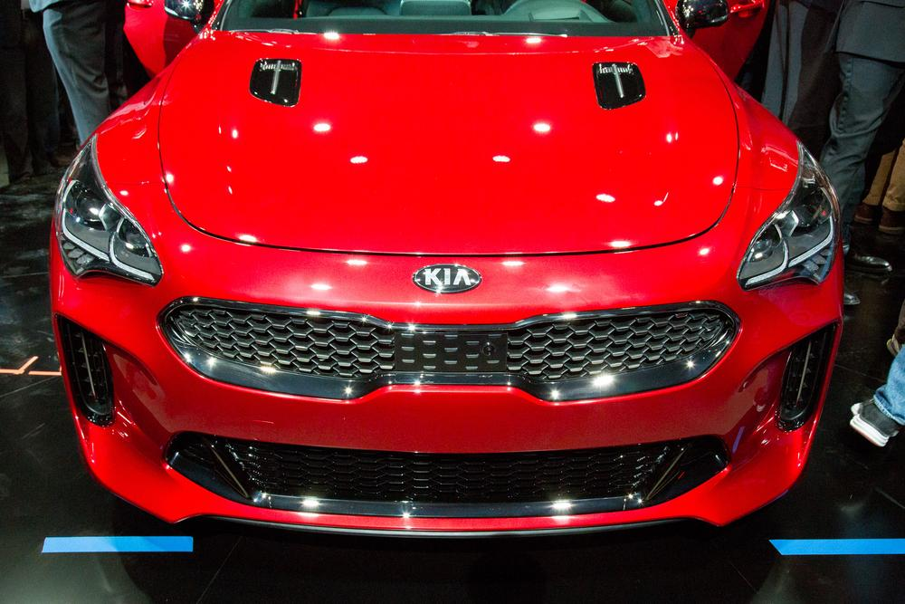 Brilliant 2018 Kia Stinger Review First Impressions And Photo