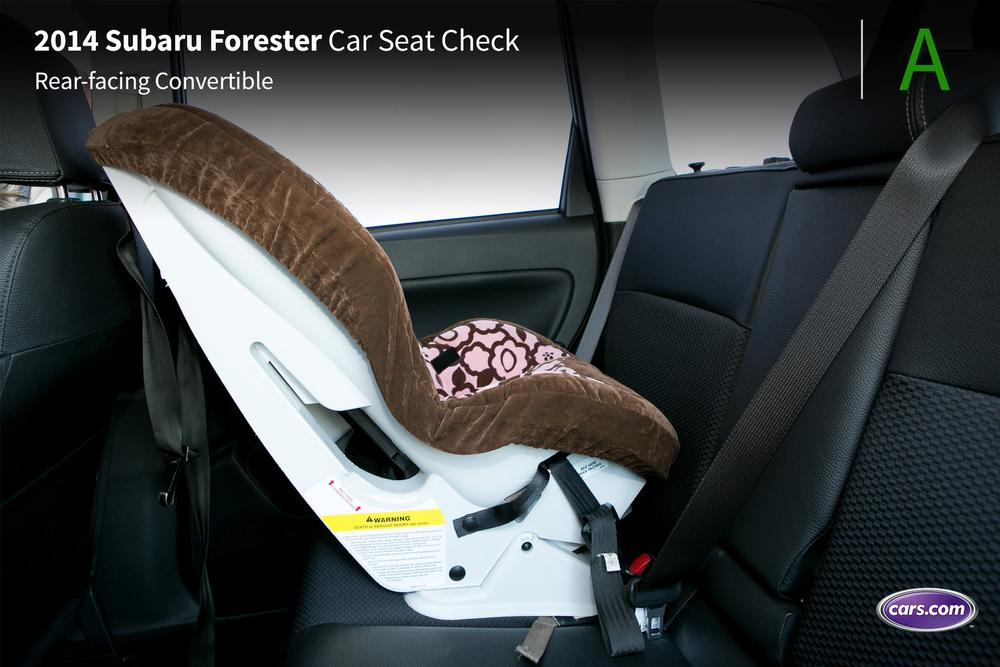 2014 subaru forester car seat check. Black Bedroom Furniture Sets. Home Design Ideas
