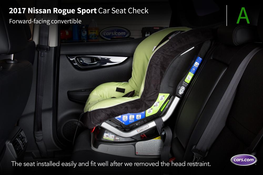 Nissan Certified Pre Owned >> 2017 Nissan Rogue Sport: Car Seat Check | News | Cars.com