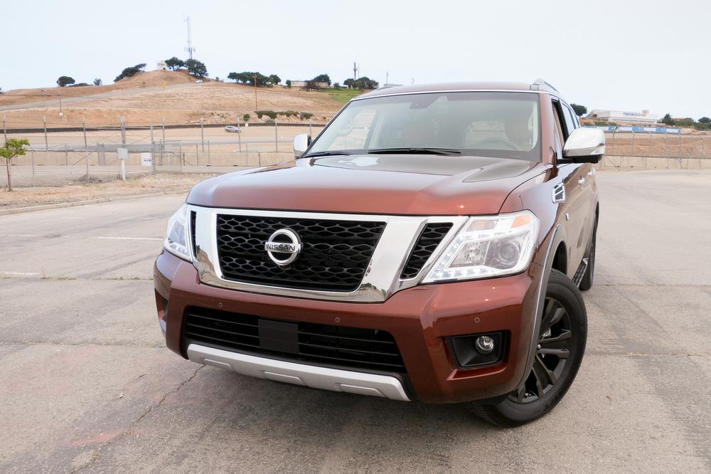 2017 Nissan Armada Review First Drive News Cars Com